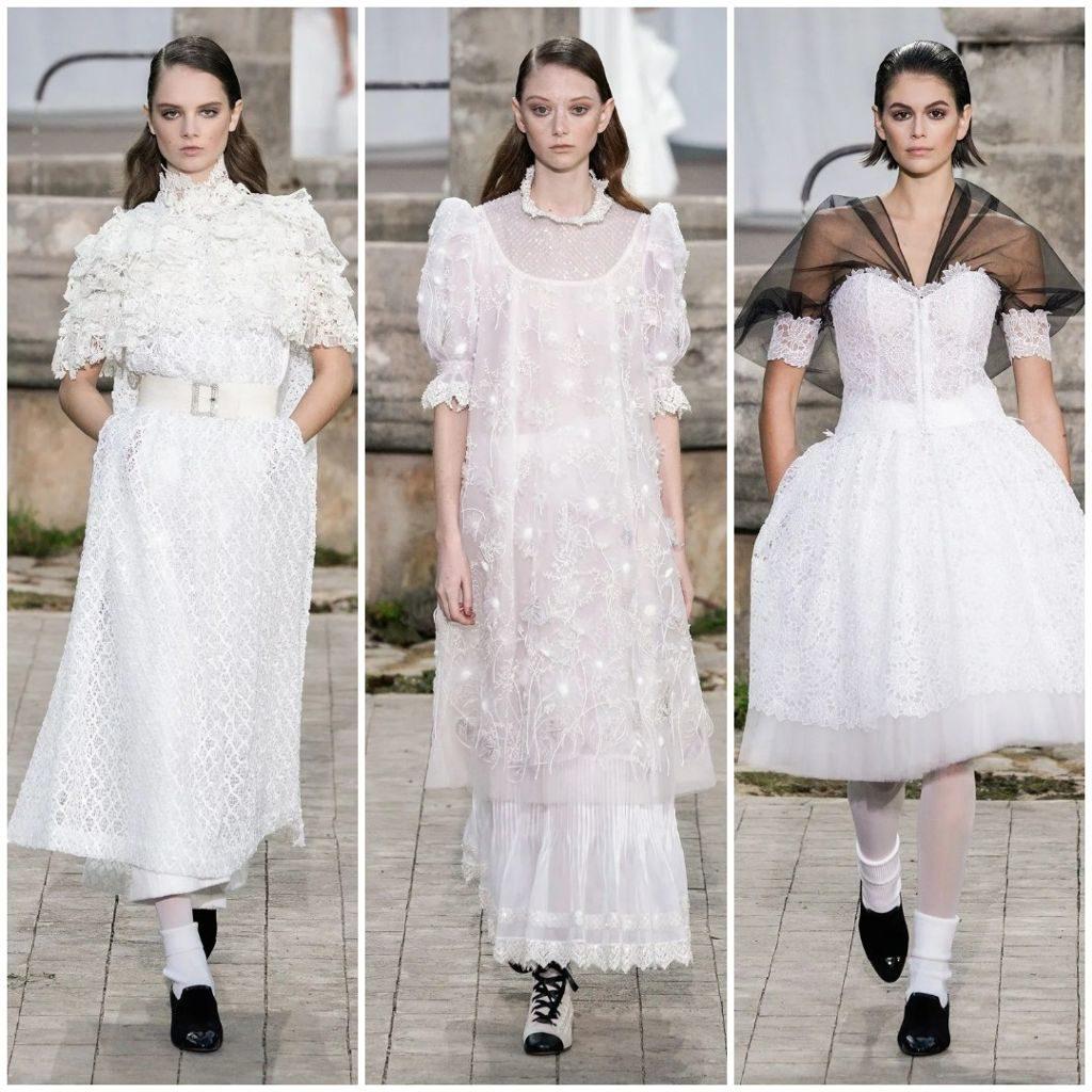 Podyum öncesi folyo modası (Chanel 2020 ilkbahar-yaz)